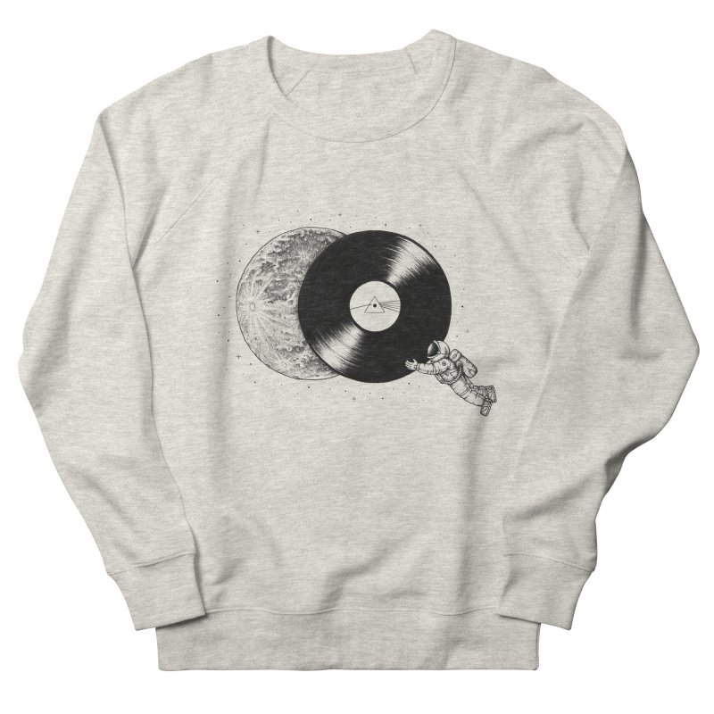 The Dark Side of the Moon Men's Sweatshirt by Buko