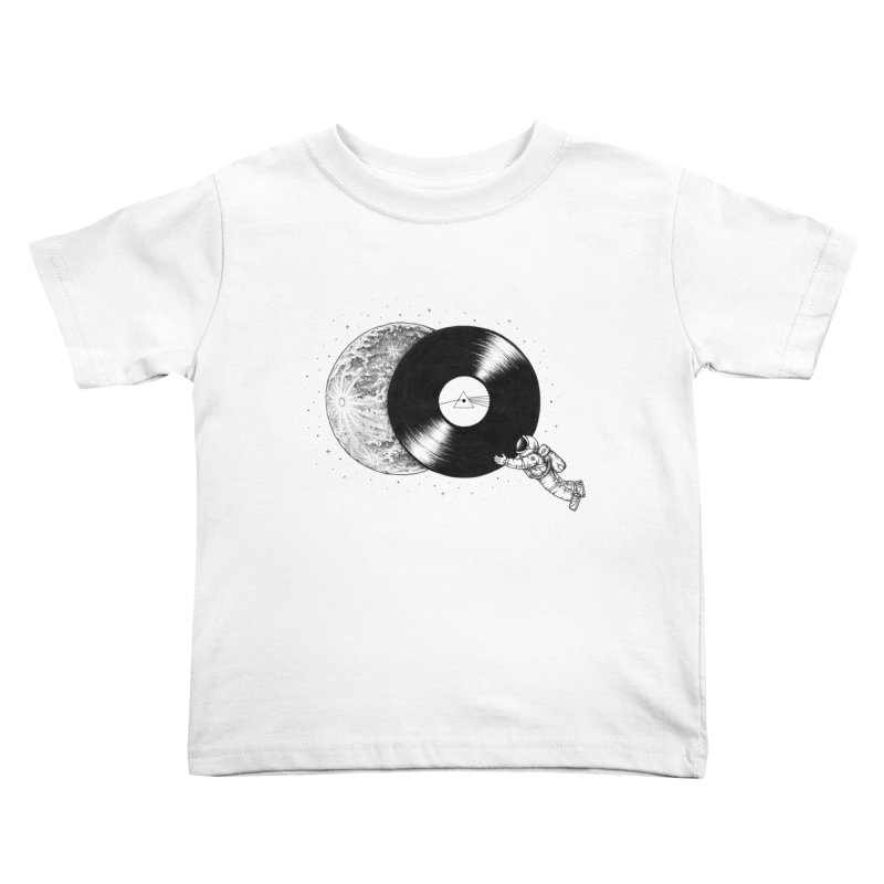 The Dark Side of the Moon Kids Toddler T-Shirt by Buko