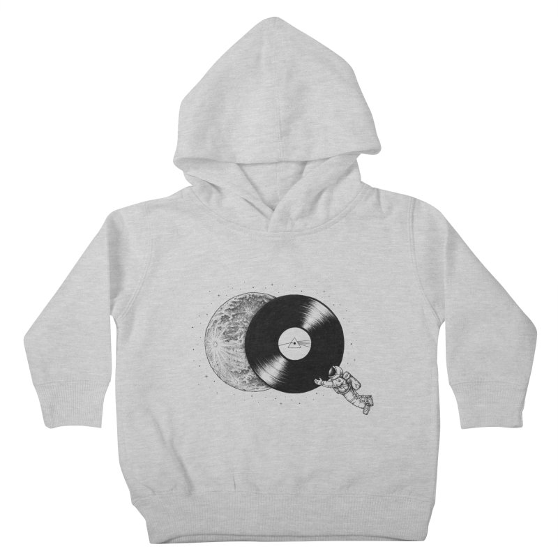 The Dark Side of the Moon Kids Toddler Pullover Hoody by Buko