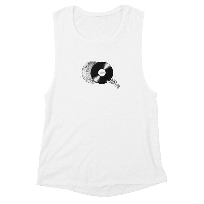 The Dark Side of the Moon Women's Muscle Tank by Buko