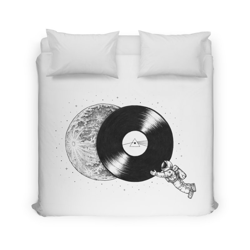 The Dark Side of the Moon Home Duvet by Buko