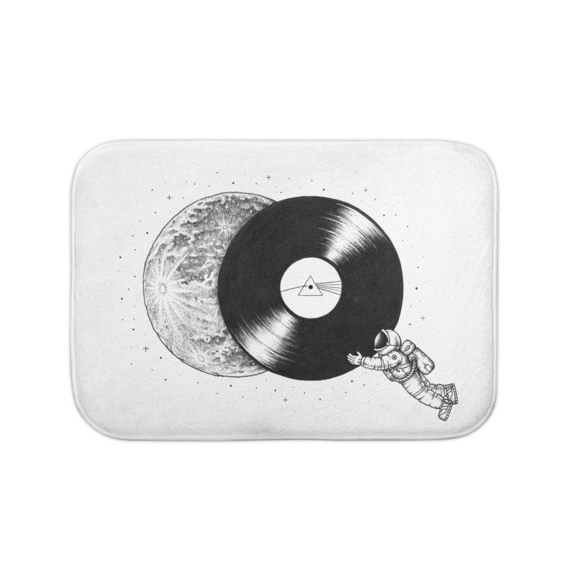 The Dark Side of the Moon Home Bath Mat by Buko