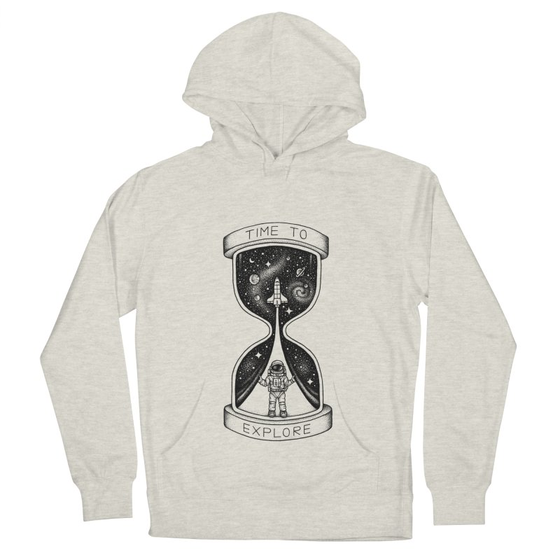 Time to Explore Men's Pullover Hoody by Buko