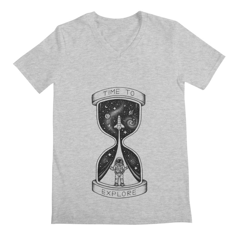 Time to Explore Men's V-Neck by Buko