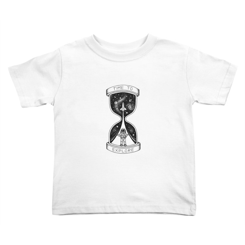 Time to Explore Kids Toddler T-Shirt by Buko