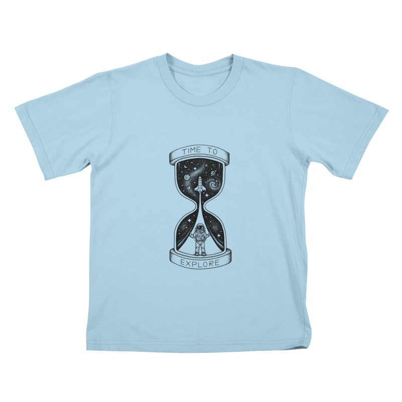 Time to Explore Kids T-shirt by Buko