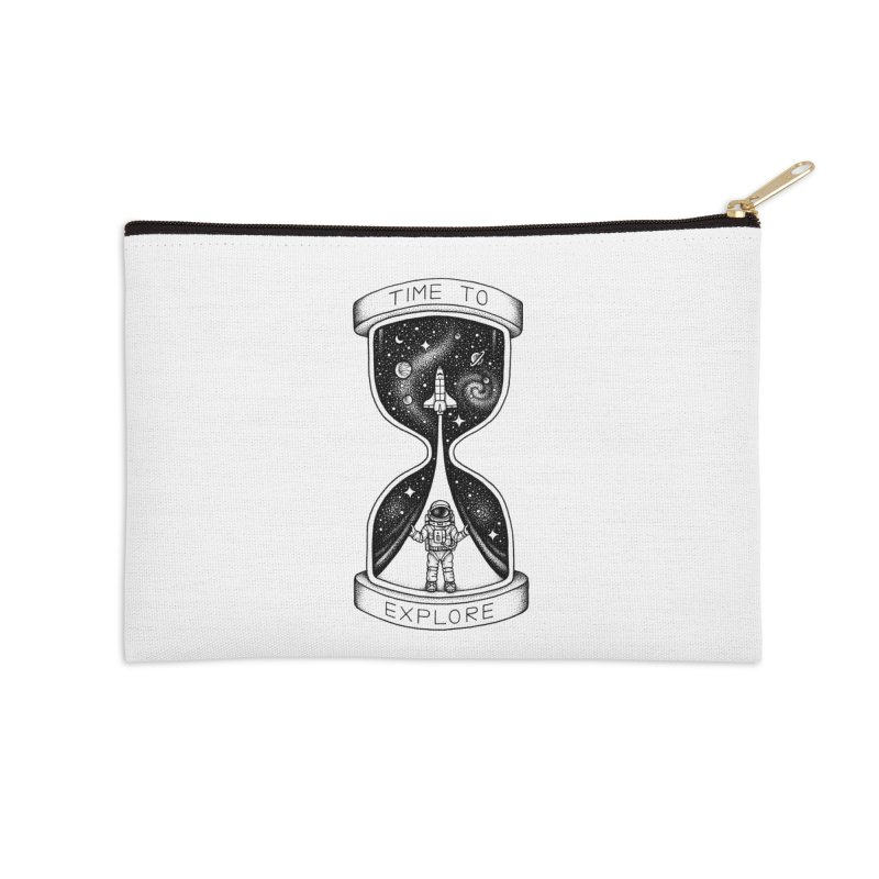 Time to Explore Accessories Zip Pouch by Buko