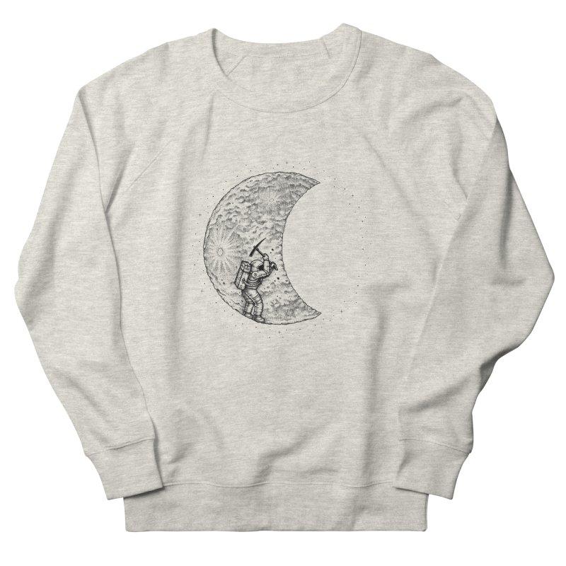 Lunar Excavation Women's Sweatshirt by Buko