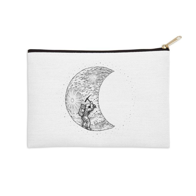 Lunar Excavation Accessories Zip Pouch by Buko
