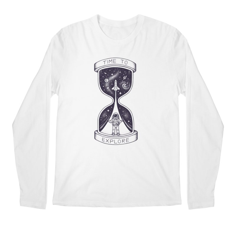 Time to Explore Men's Longsleeve T-Shirt by Buko
