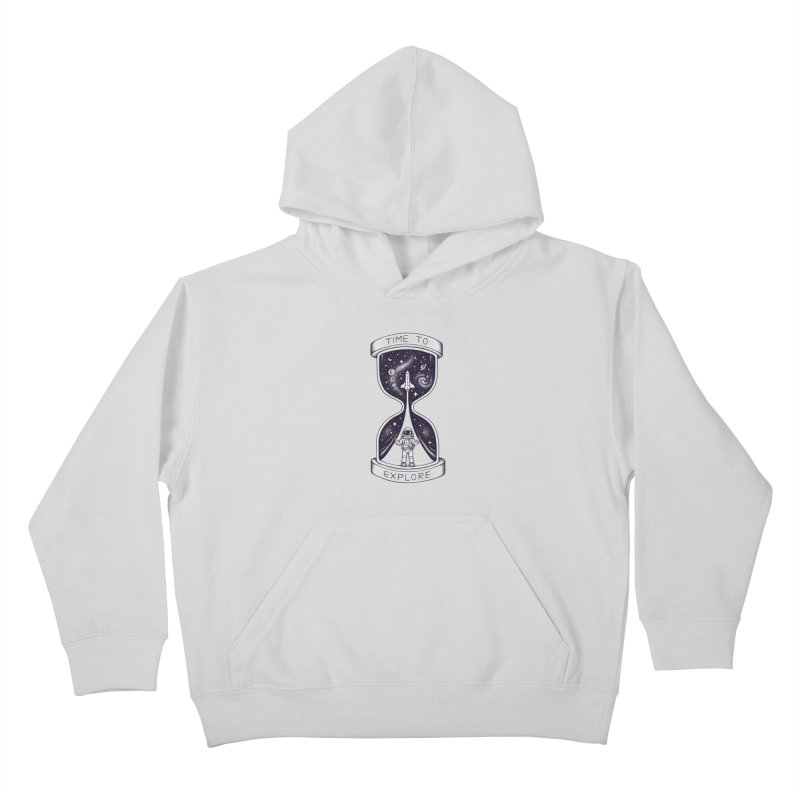 Time to Explore Kids Pullover Hoody by Buko