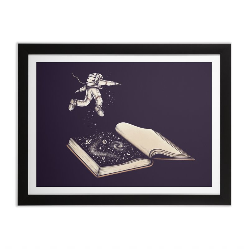 Dive In Home Framed Fine Art Print by Buko
