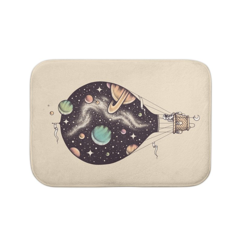 Interstellar Journey Home Bath Mat by Buko