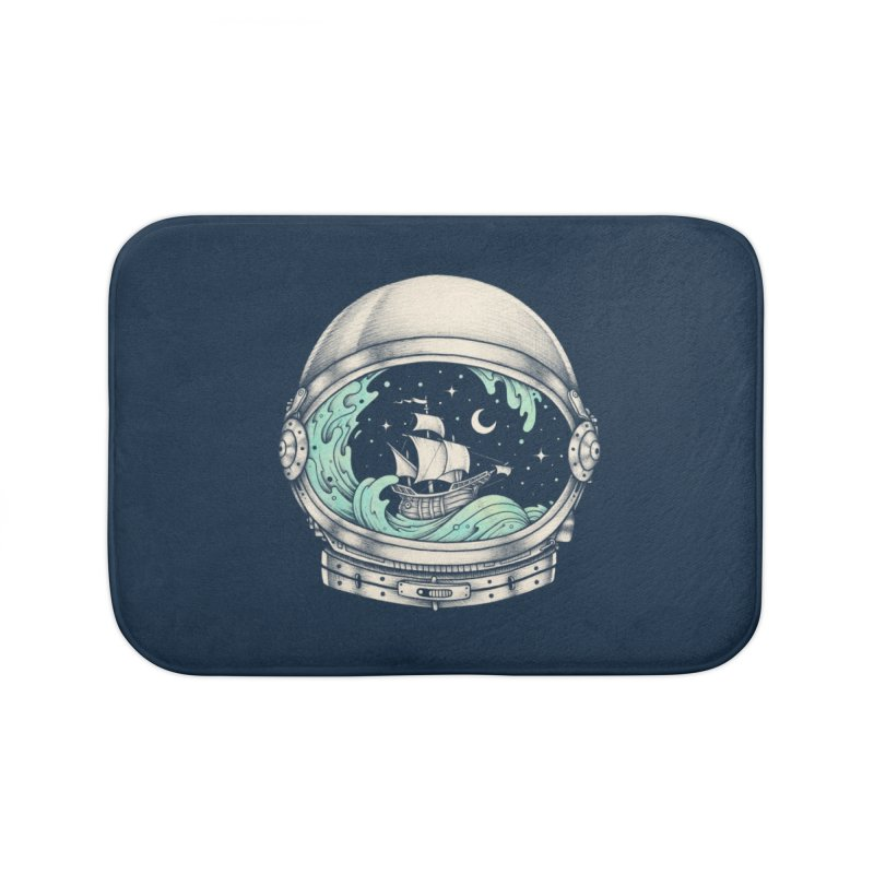 Spaceship Home Bath Mat by Buko