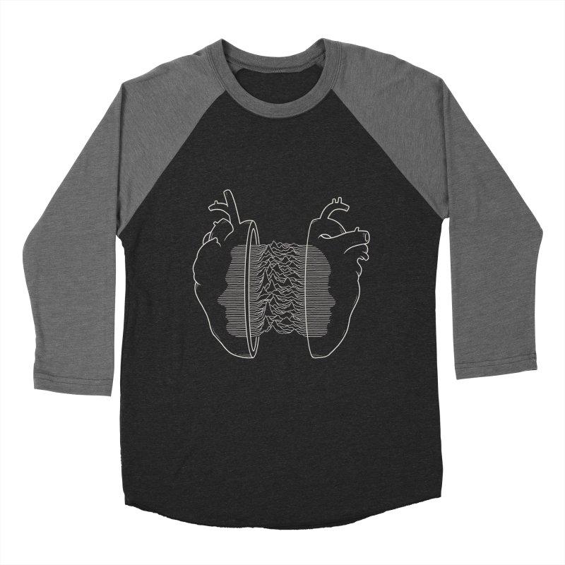 Love Will Tear Us Apart Men's Baseball Triblend T-Shirt by Buko