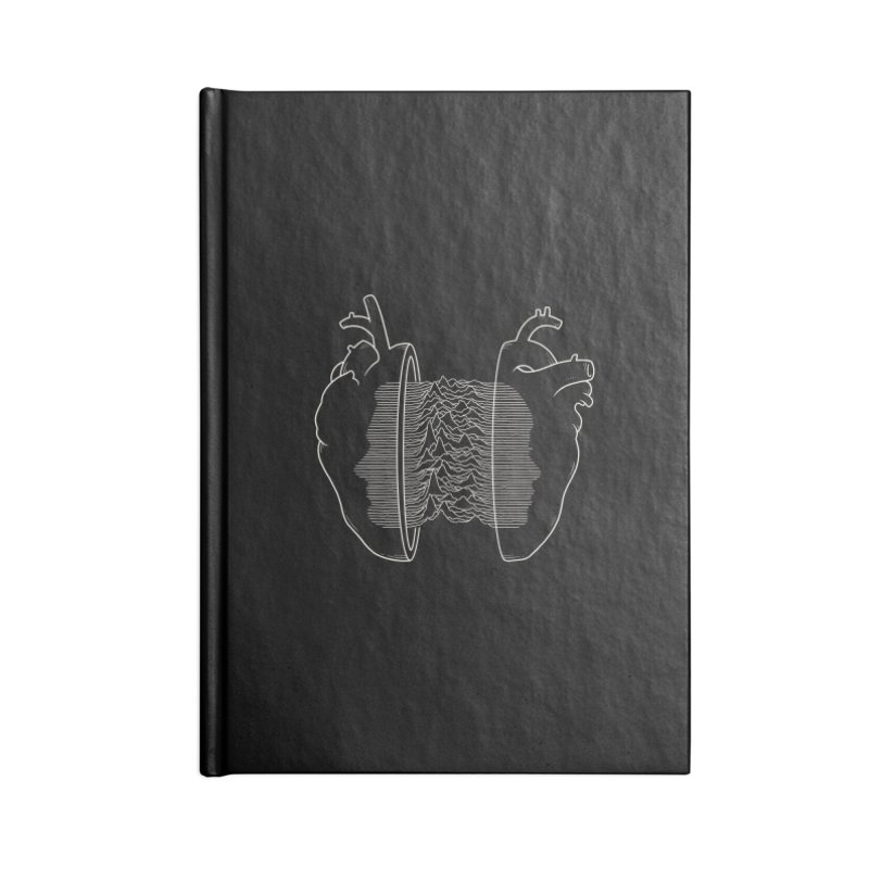 Love Will Tear Us Apart Accessories Notebook by Buko