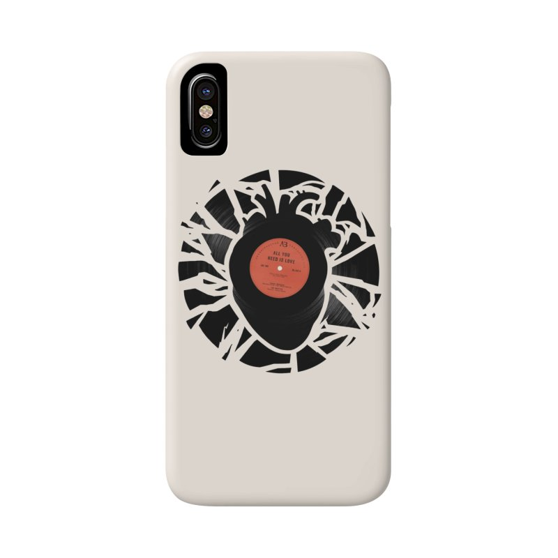 All You Need Is Love Accessories Phone Case by Buko