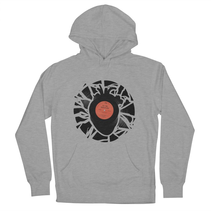 All You Need Is Love Men's Pullover Hoody by Buko