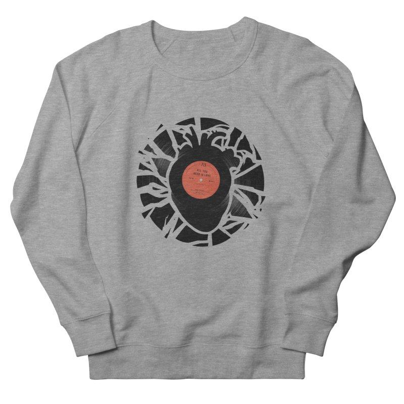 All You Need Is Love Men's Sweatshirt by Buko