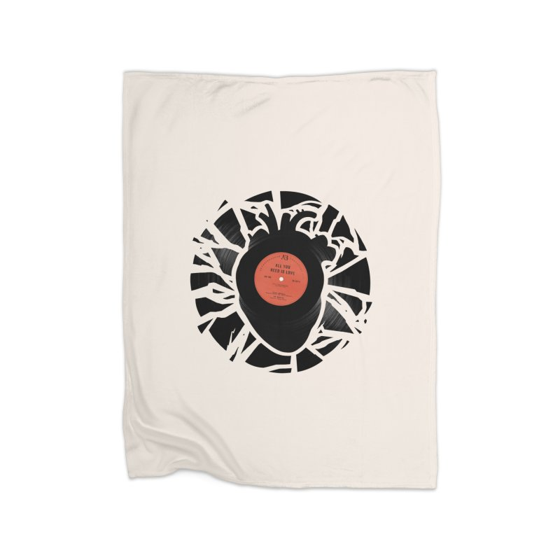 All You Need Is Love Home Blanket by Buko