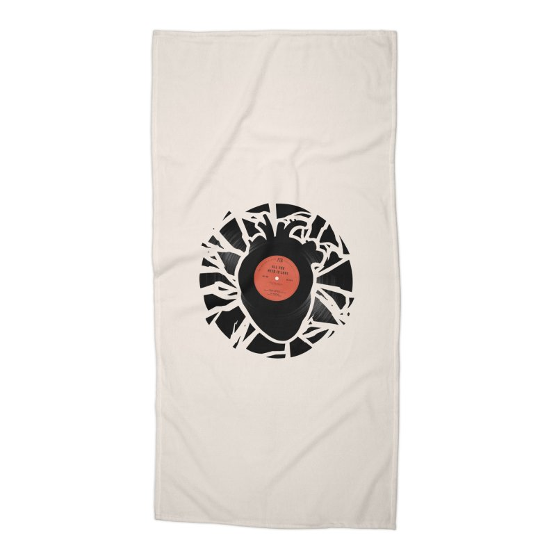 All You Need Is Love Accessories Beach Towel by Buko