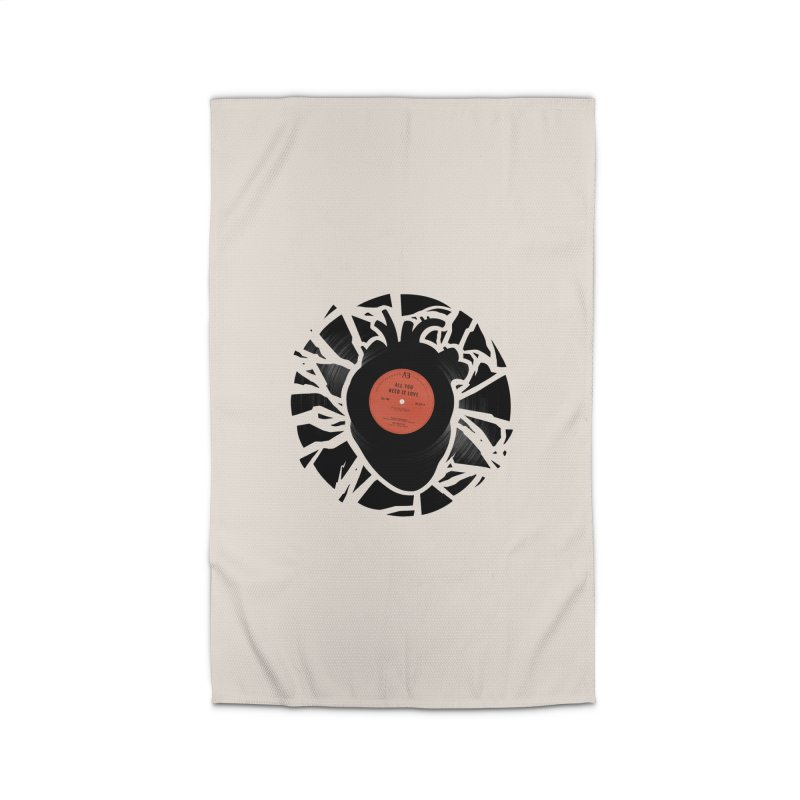 All You Need Is Love Home Rug by Buko