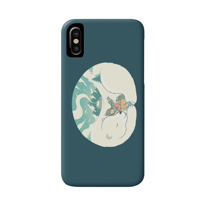 Cozy Winter Accessories Phone Case by Buko