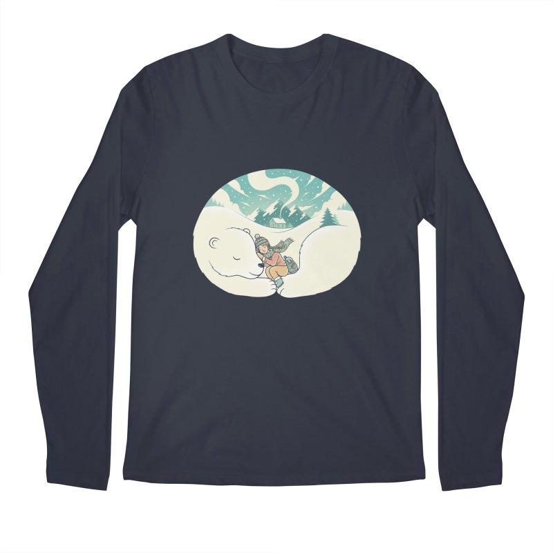 Cozy Winter Men's Longsleeve T-Shirt by Buko