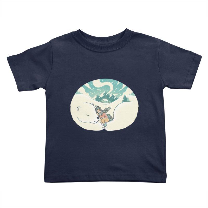 Cozy Winter Kids Toddler T-Shirt by Buko