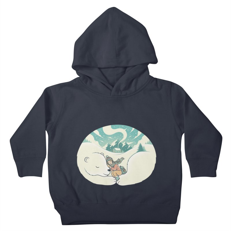 Cozy Winter Kids Toddler Pullover Hoody by Buko