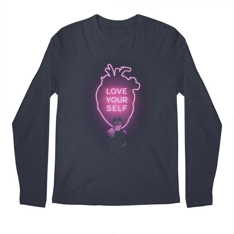 Love Yourself Men's Longsleeve T-Shirt by Buko