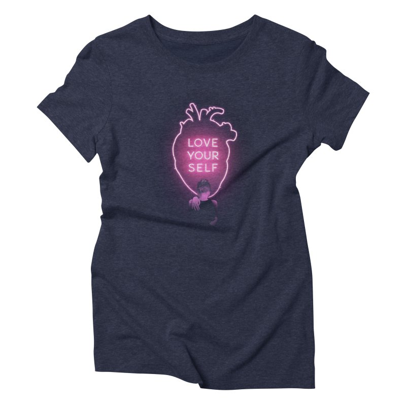 Love Yourself Women's Triblend T-Shirt by Buko