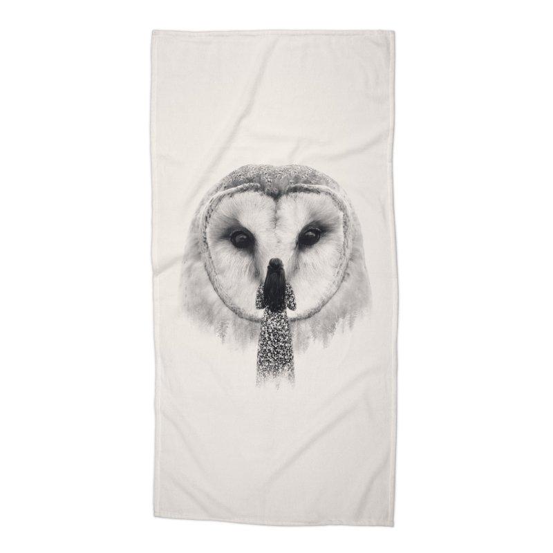Nocturnal Friend Accessories Beach Towel by Buko