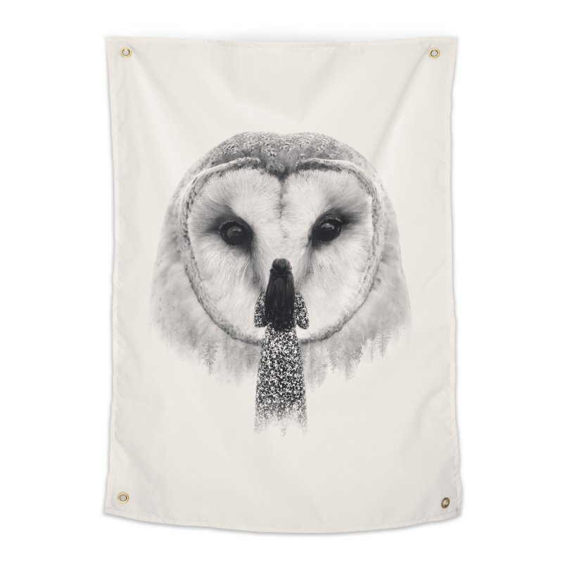 Nocturnal Friend Home Tapestry by Buko