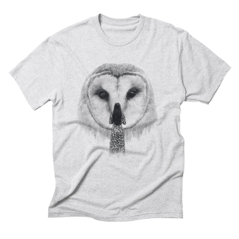 Nocturnal Friend Men's Triblend T-Shirt by Buko
