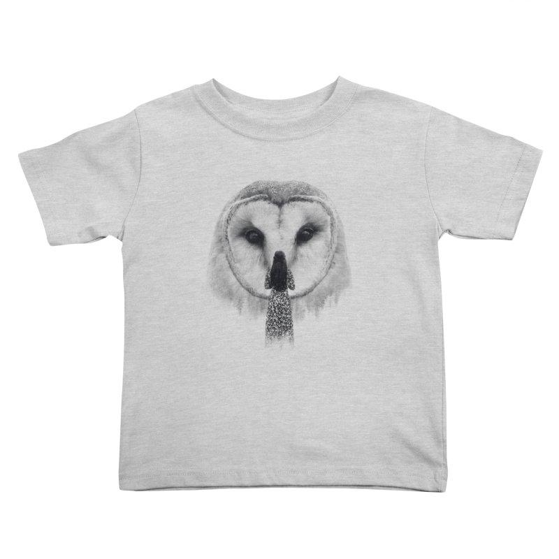 Nocturnal Friend Kids Toddler T-Shirt by Buko