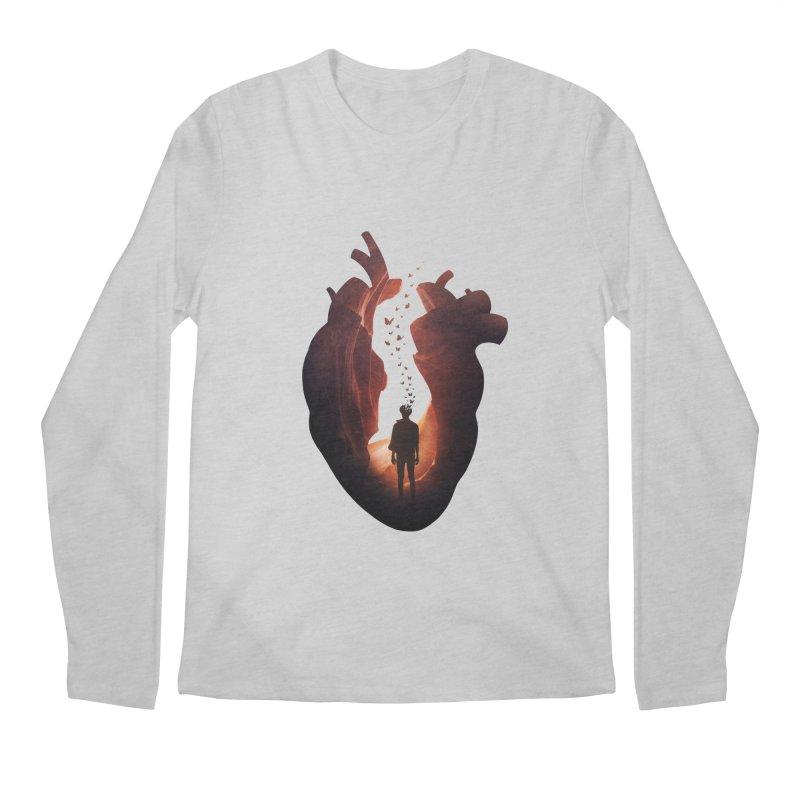 Flickering Soul Men's Longsleeve T-Shirt by Buko