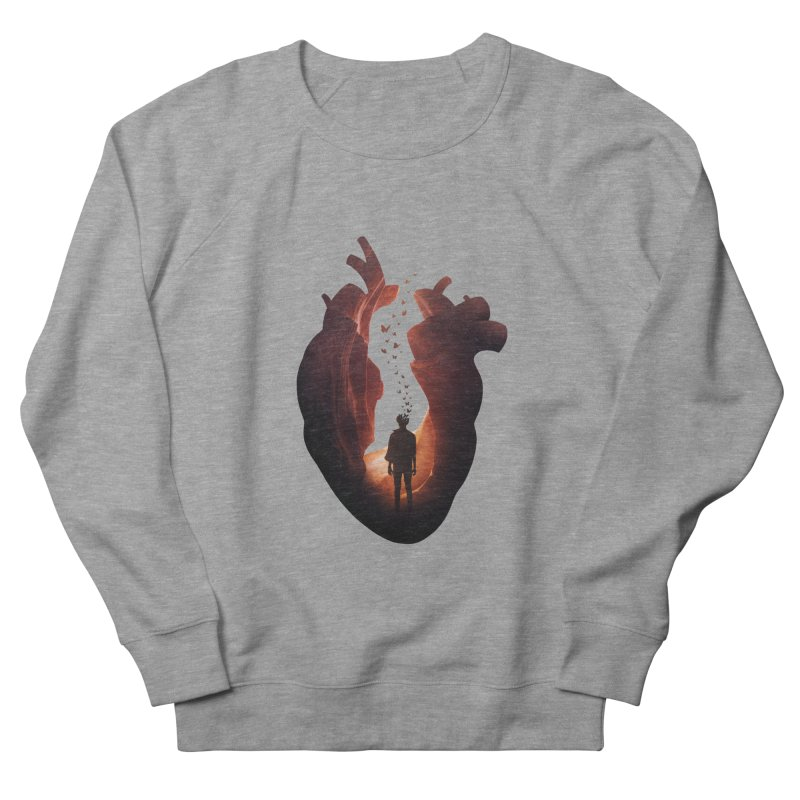 Flickering Soul Men's Sweatshirt by Buko