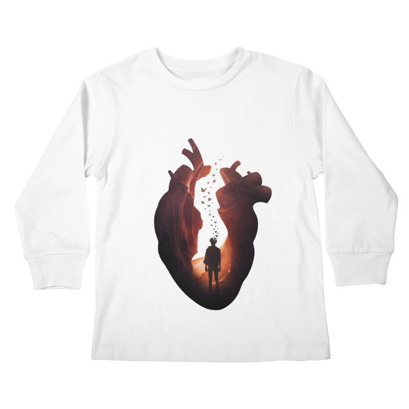 Flickering Soul Kids Longsleeve T-Shirt by Buko