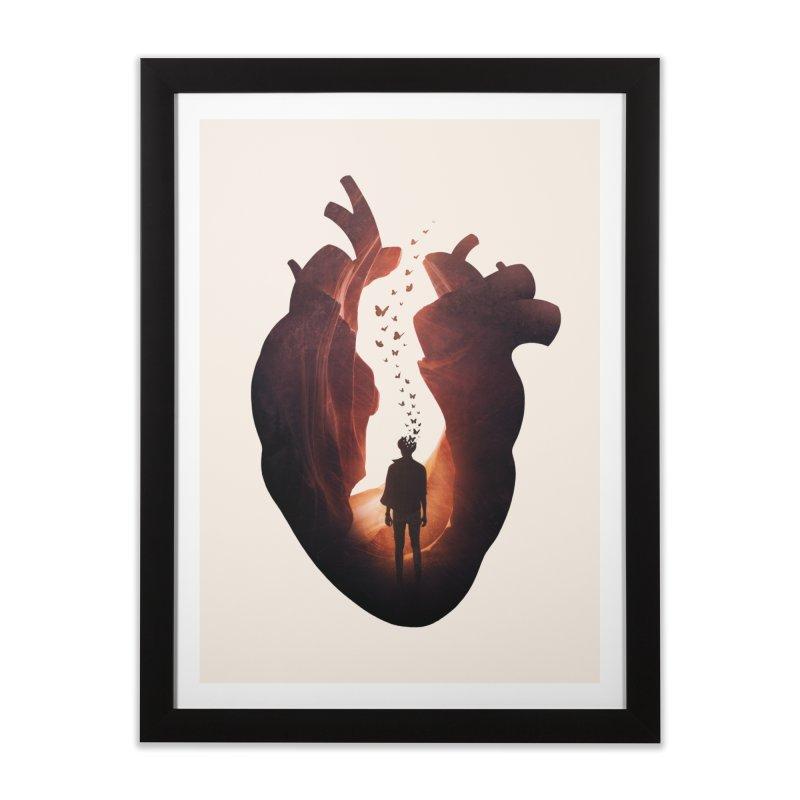 Flickering Soul Home Framed Fine Art Print by Buko