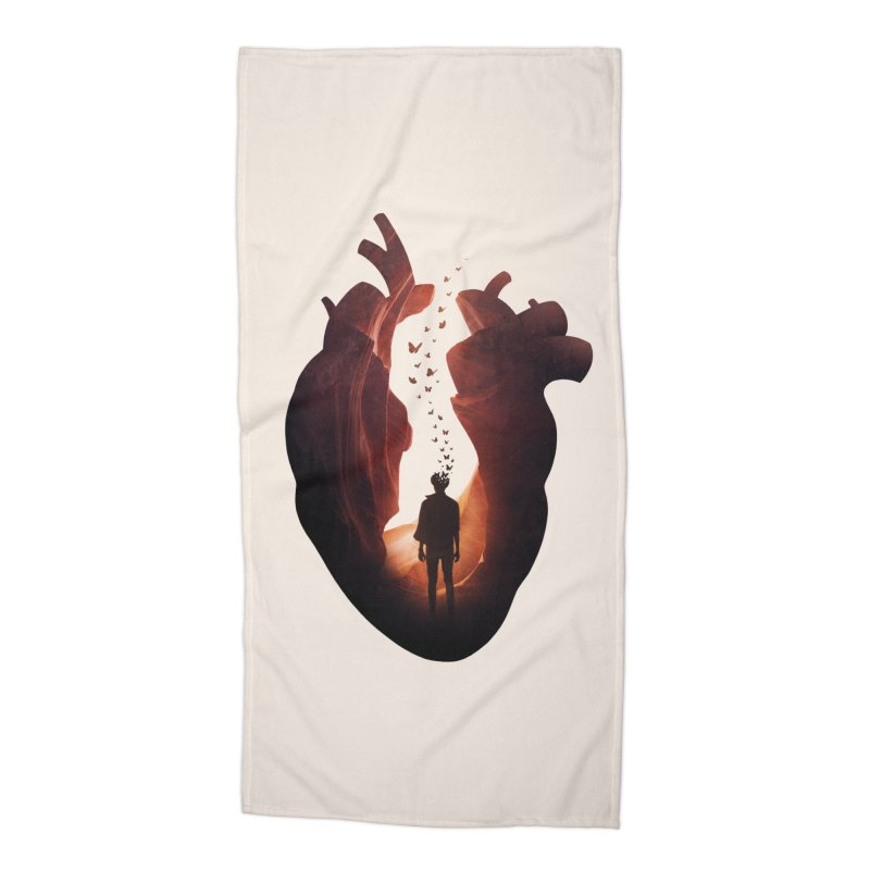 Flickering Soul Accessories Beach Towel by Buko