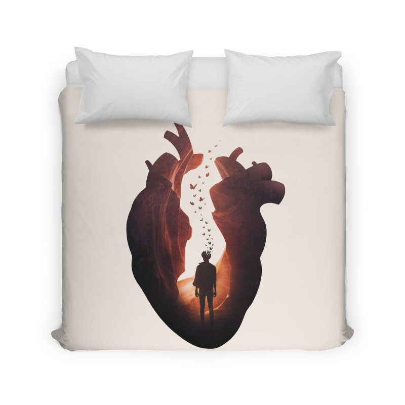 Flickering Soul Home Duvet by Buko