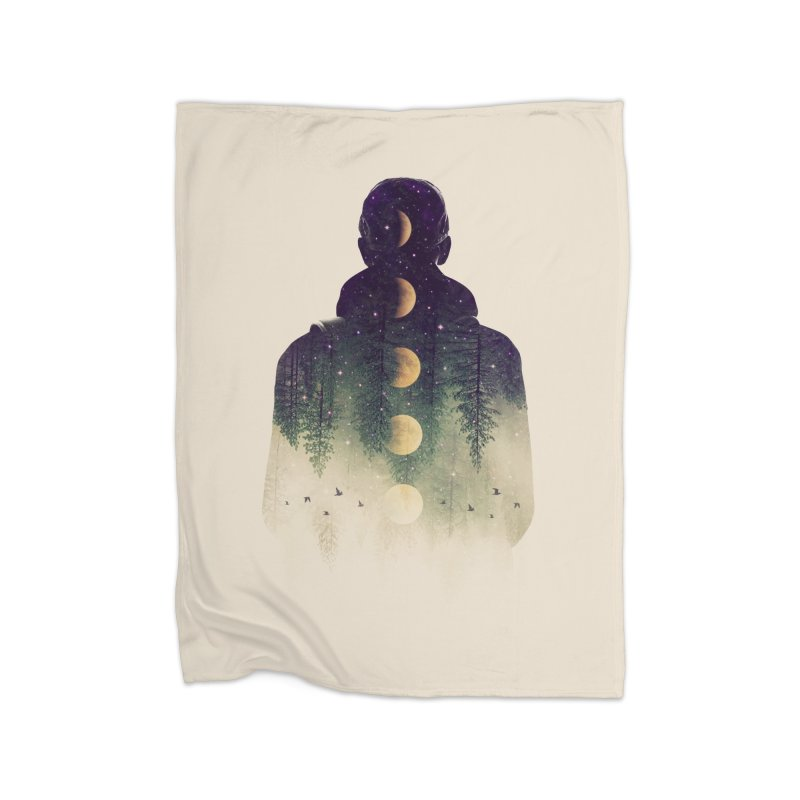 Night Air Home Blanket by Buko