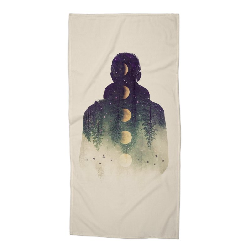 Night Air Accessories Beach Towel by Buko