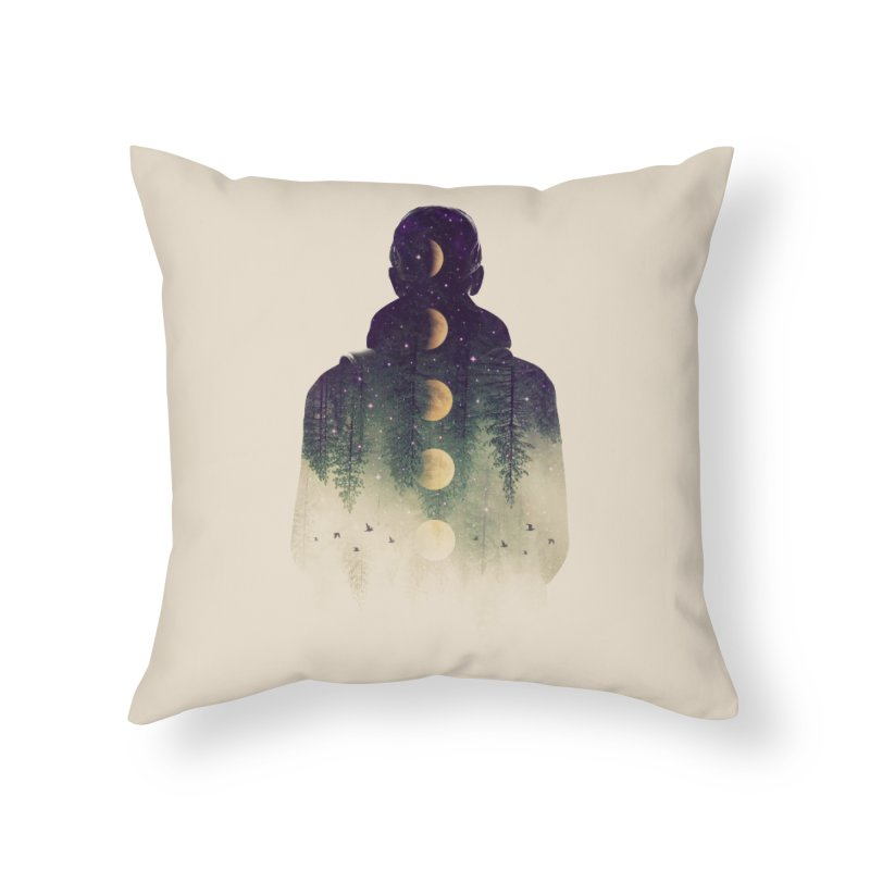 Night Air Home Throw Pillow by Buko