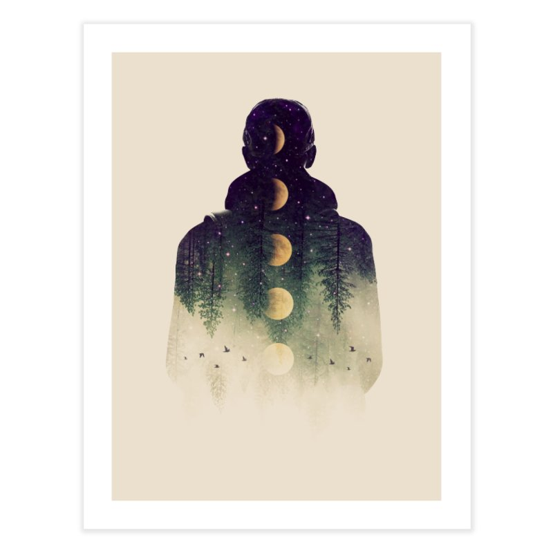 Night Air Home Fine Art Print by Buko