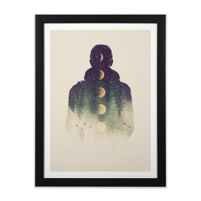 Night Air Home Framed Fine Art Print by Buko