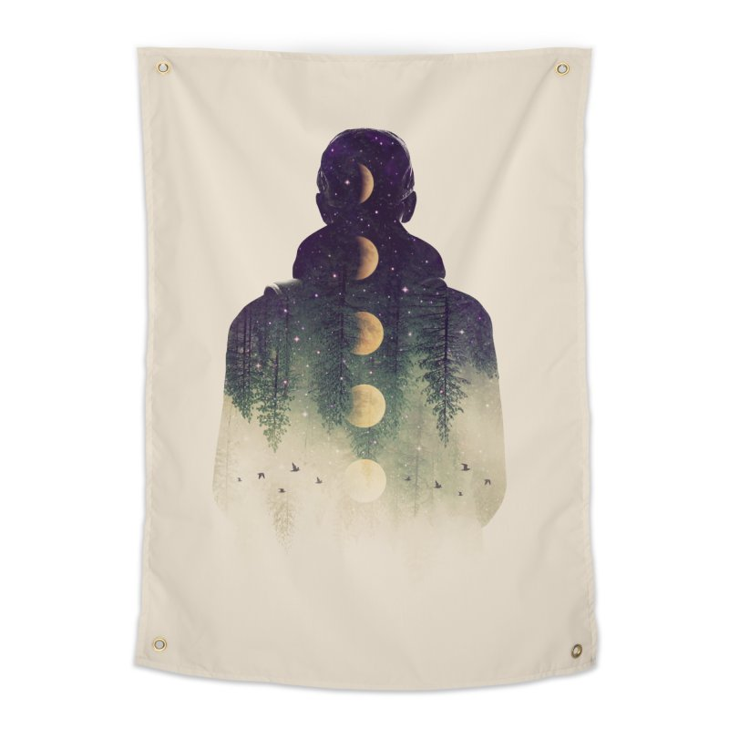 Night Air Home Tapestry by Buko