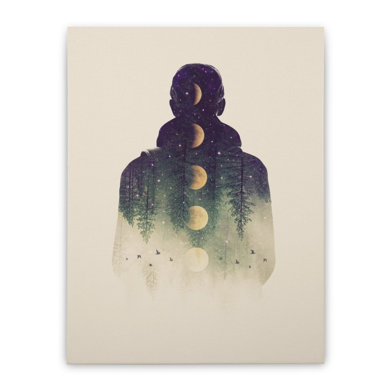 Night Air Home Stretched Canvas by Buko