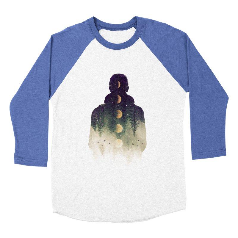 Night Air Women's Baseball Triblend T-Shirt by Buko